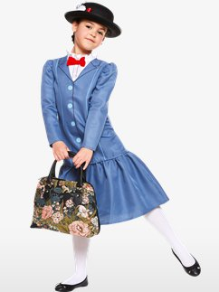 Mary Poppins - Déguisement Enfant Fancy Dress