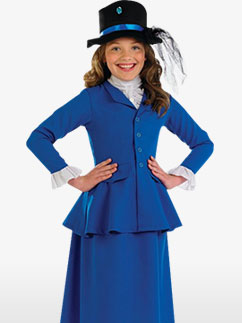 Demoiselle Victorienne - Costume Enfant Fancy Dress