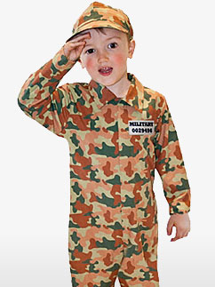Militaire Garçon - Costume enfant Fancy Dress