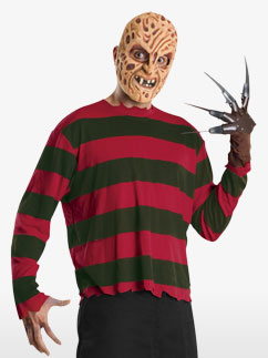 Kit Freddy Krueger - Déguisement Adulte  Fancy Dress