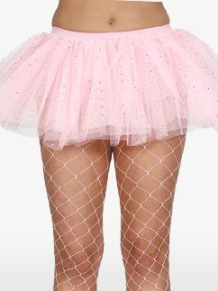 Tutu Rose Bébé à Paillettes - Déguisement Adulte Fancy Dress