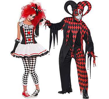D guisements de couples pour halloween party city - Deguisement couple halloween ...