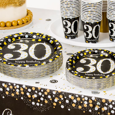 Anniversaire 30 ans th mes et id es d co for Decoration 30 ans