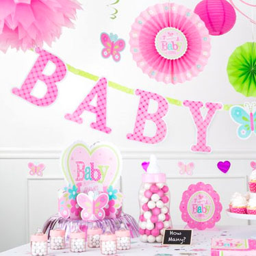 Baby shower for Baby shower party deko