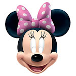 Masques en Carton Minnie Mouse