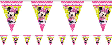 Guirlande en Plastique Minnie Mouse - 2,3 m