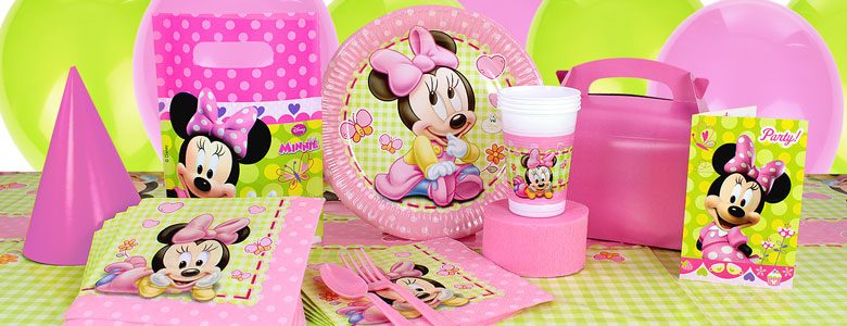 anniversaire 1 an minnie mouse party city. Black Bedroom Furniture Sets. Home Design Ideas