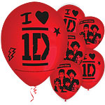 Ballons One Direction - Latex, 28 cm