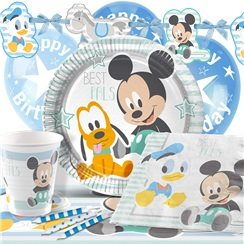 Anniversaire 1 an mickey mouse - Kit anniversaire bebe 1 an ...
