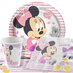 Anniversaire 1 an minnie mouse - Kit anniversaire bebe 1 an ...