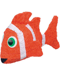 Piňata Poisson Clown - 55 cm de Long
