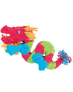 Piñata Dragon Chinois - 68 cm de Long