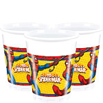 Gobelets en Plastique Spider-Man - 200 ml
