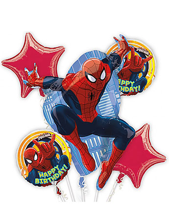Bouquet de Ballons Spider-Man - Alu