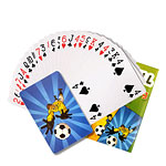 Mini Paquet de Cartes Football